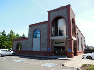 Hop Valley is a located right in the heart of Springfield, Oregon near the Gateway Mall.