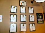 Hop Valley has won several awards and their lead brewer, Trevor Howard, has won top awards from some of the most prestigious national and international beer tasting competitions.