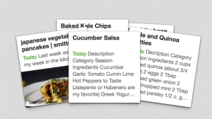 Organizing Recipes in Evernote