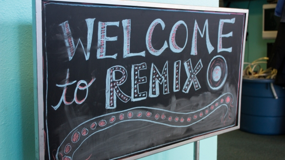 welcome to remix sign
