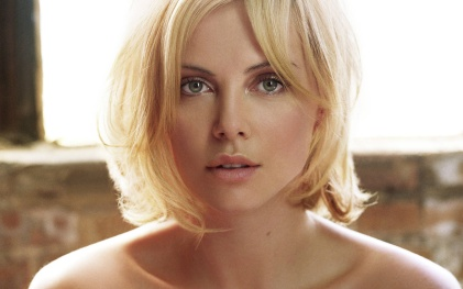 Charlize Theron, American and South African actress, rose to acting fame in the 1990s and continues to be to this day. She's best known for her role in Monster. image provided by FanPop